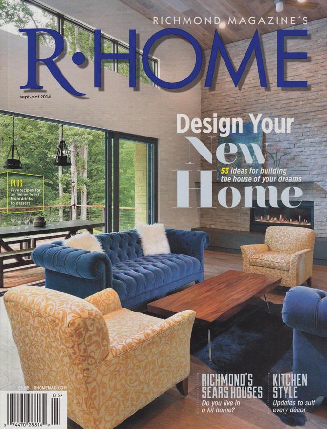 R Home magazine cover