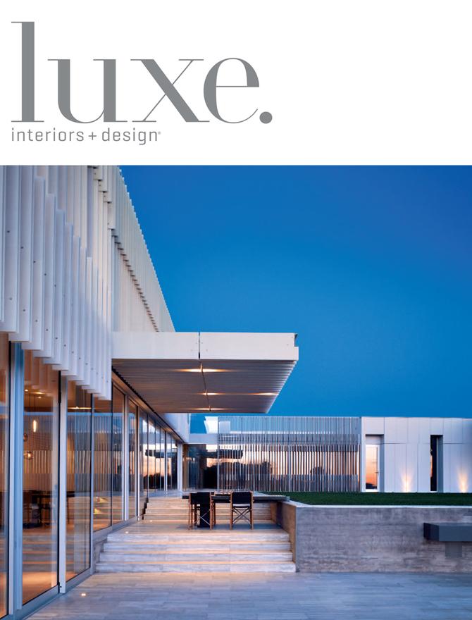 Luxe magazine cover