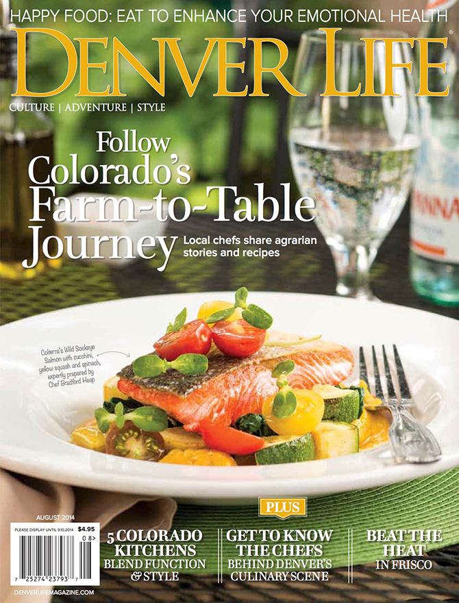 Denver Life magazine cover