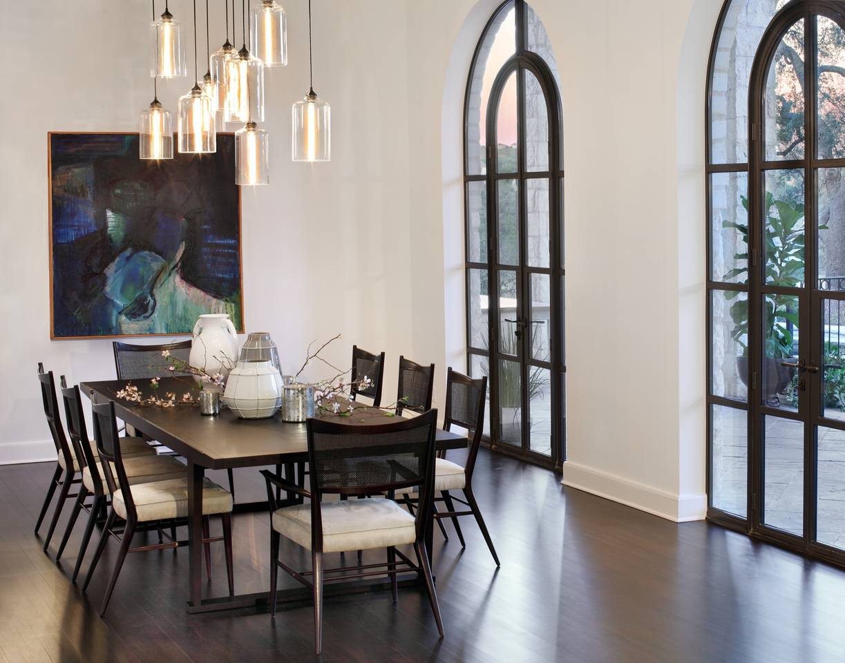 Modern lighting blog featured lighting projects west lake residence mozeypictures Images