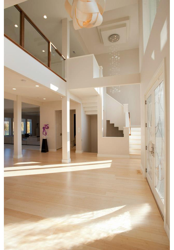 modern home foyer