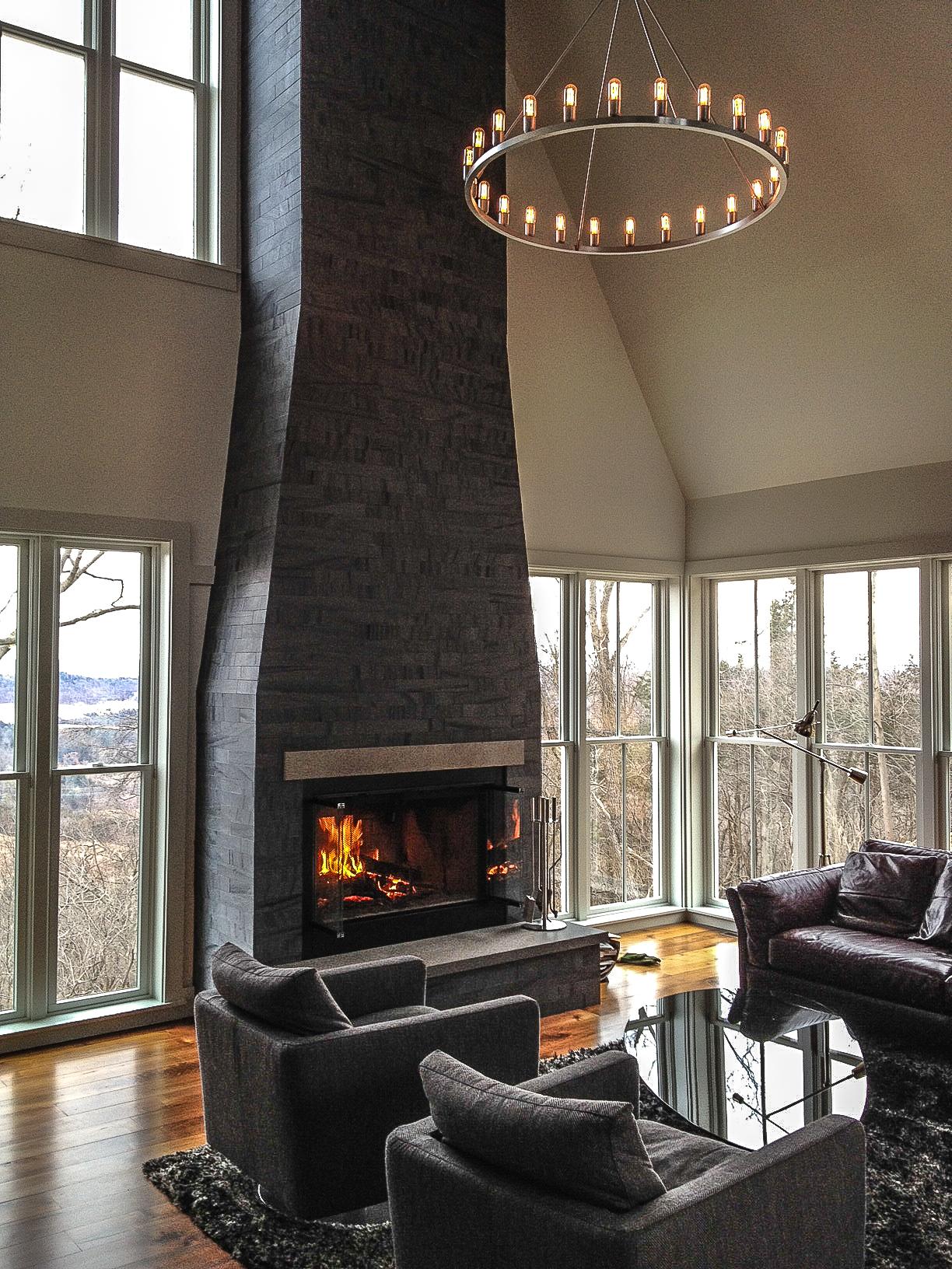 Modern lighting blog niche modern spark chandelier finds its home sweet home arubaitofo Images