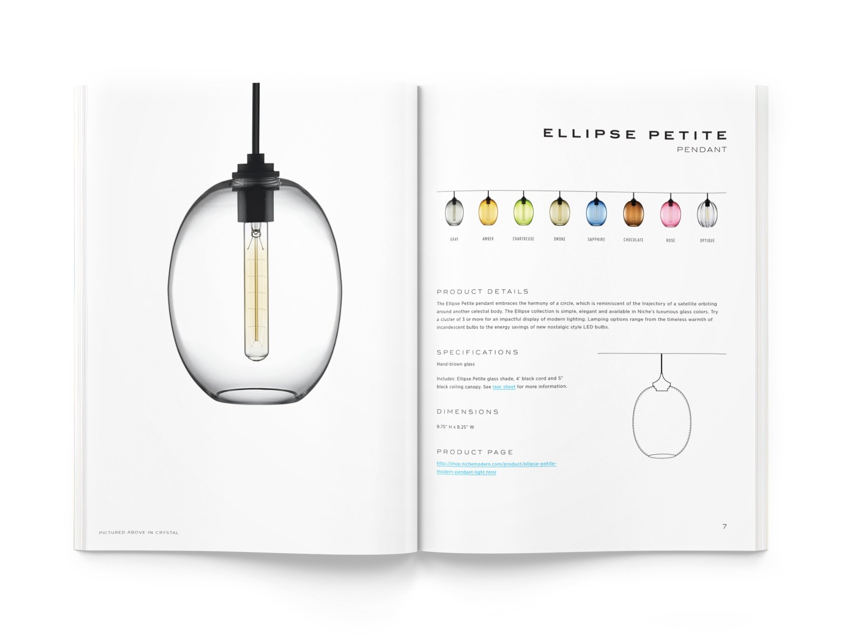 Ellipse Modern Pendant Light Series Guidebook
