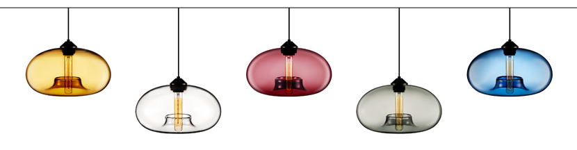 The Aurora Pendant Color Options