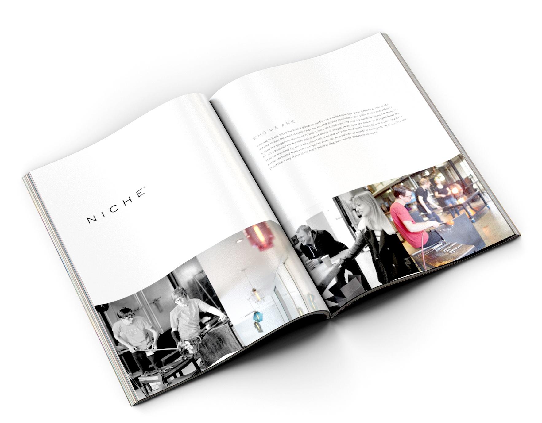 Niche employment information catalog