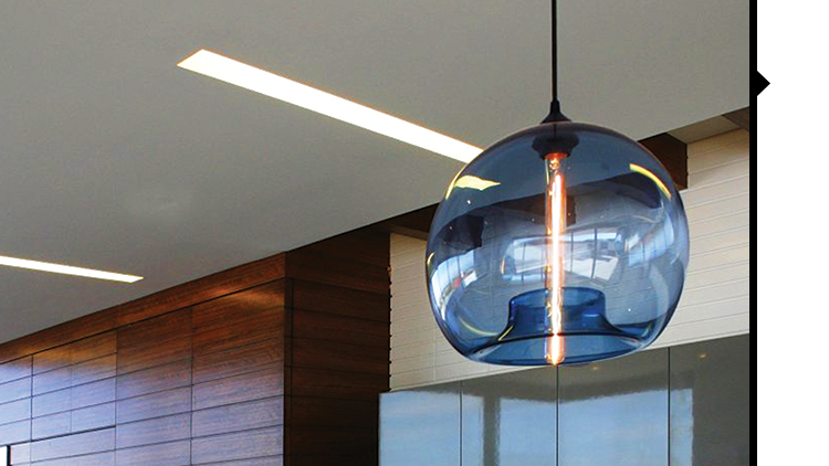 modern lighting company makes first pendant light