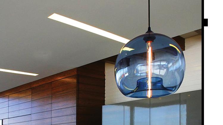 modern lighting company makes first pendant light