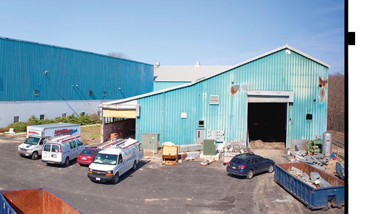 modern lighting company renovates factory building
