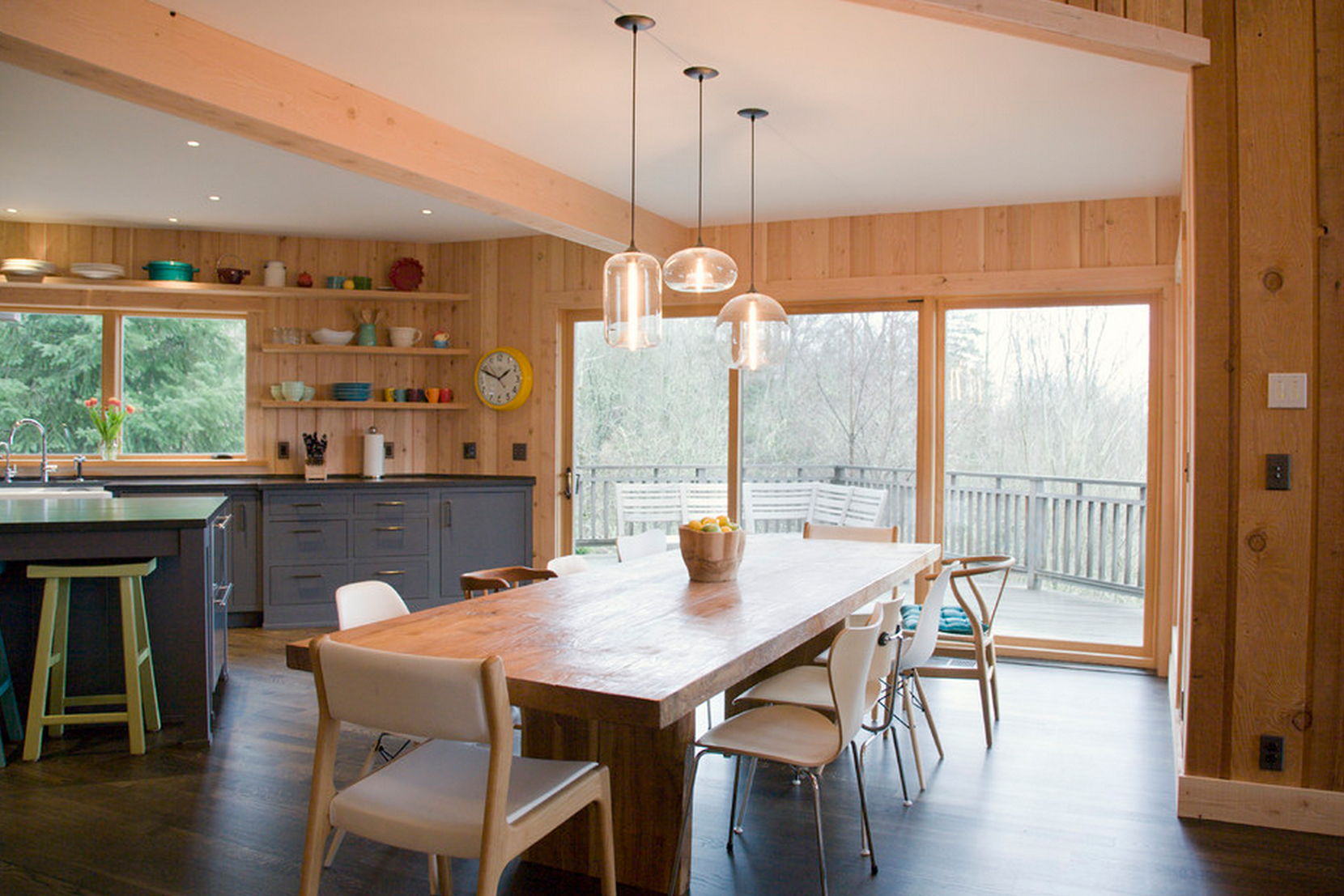 Kitchen and dining room lighting Country Read More Traditional Home Magazine Modern Dining Room Lighting