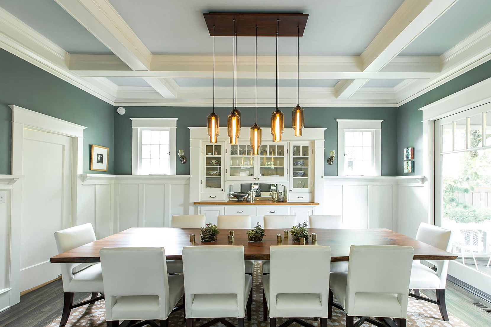 + Read More · Lighting Project Pages_0006s_0010_Custom Modern Dining Room  Pendant Lighting