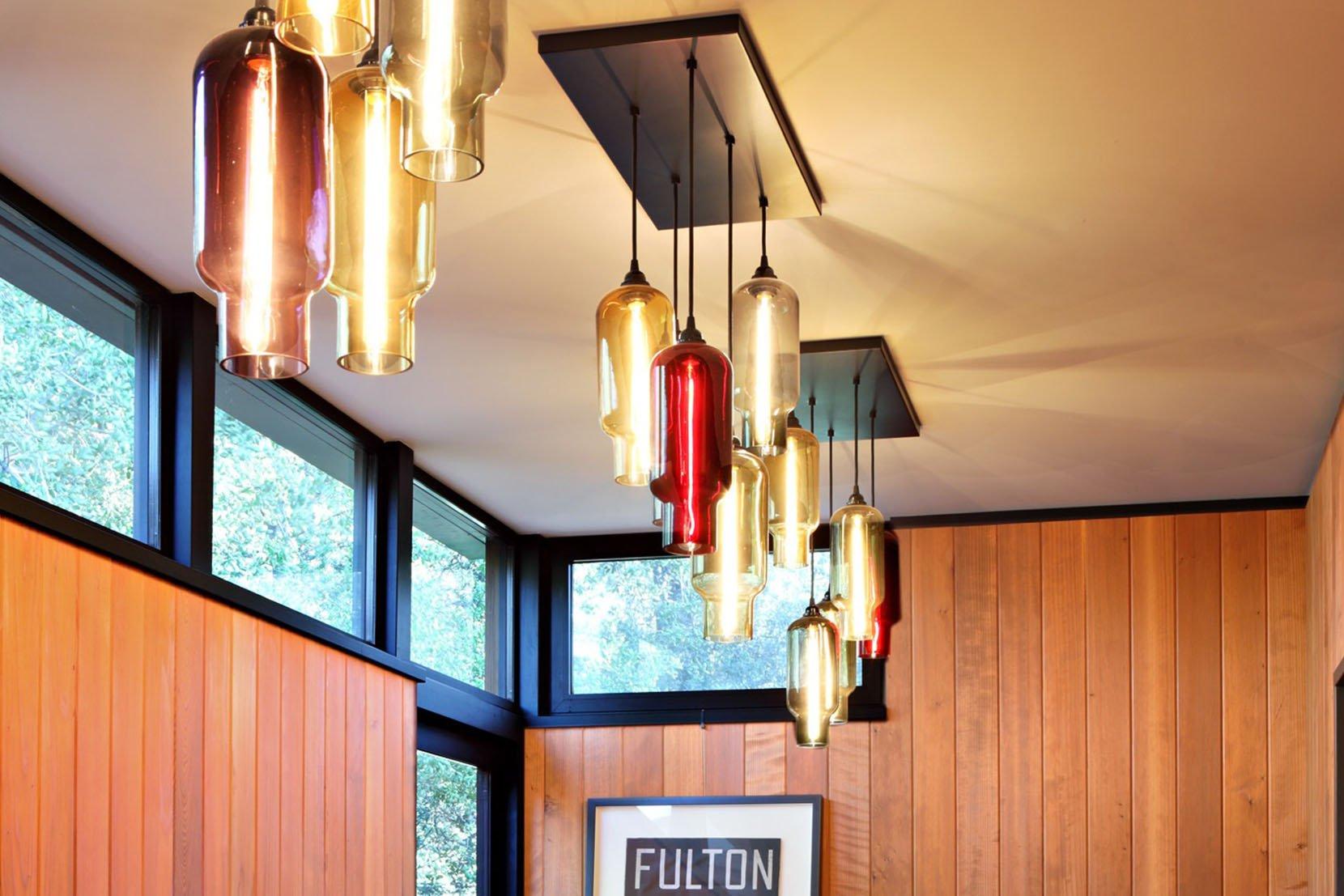 Modern Glass Entry Way Lighting - Pack Pharos Pendant Lights