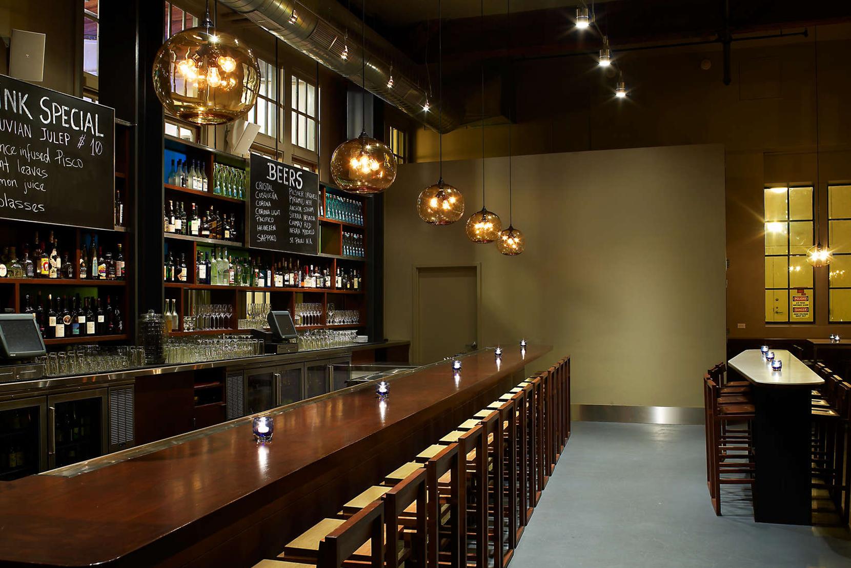 Modern Glass Restaurant Lighting - Terra Pendant Lights