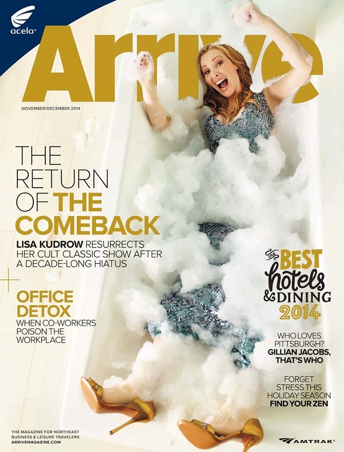 Arrive magazine cover
