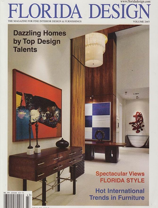 Florida Design magazine cover
