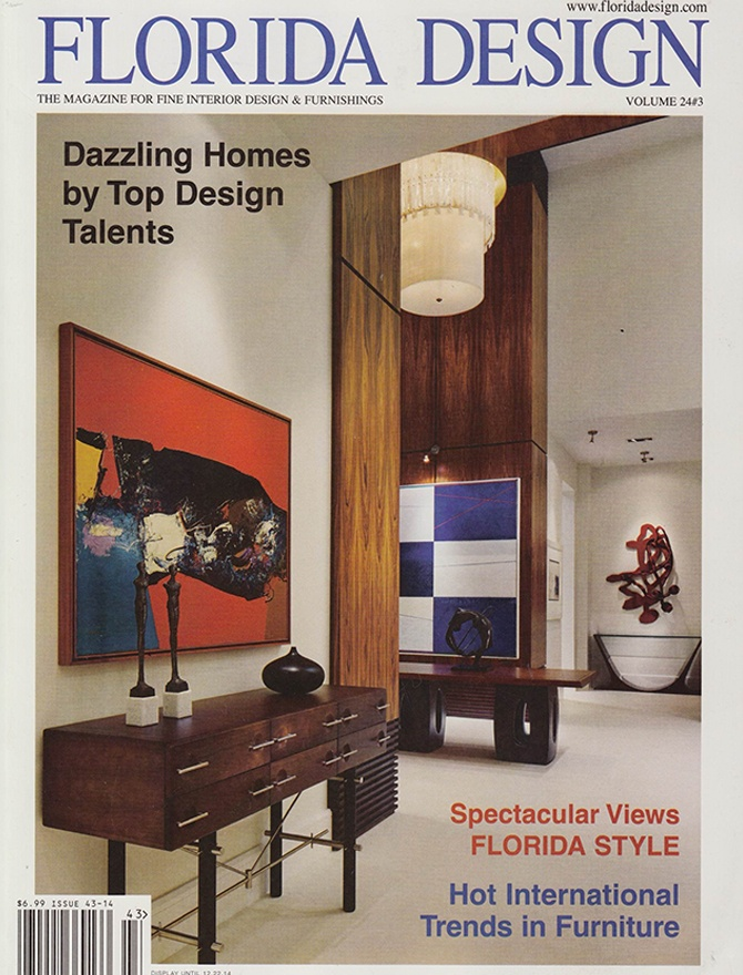 Florida Design magazine cover