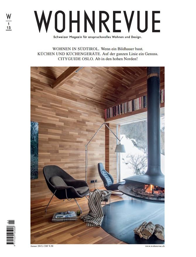 Wohnrevue magazine cover