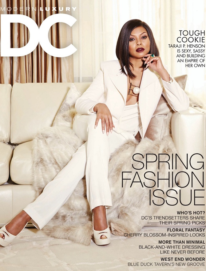 DC Modern Luxury magazine cover