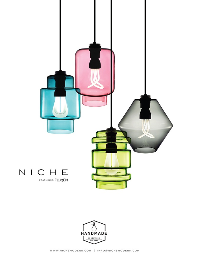 modern lighting inside Interior Design Today magazine