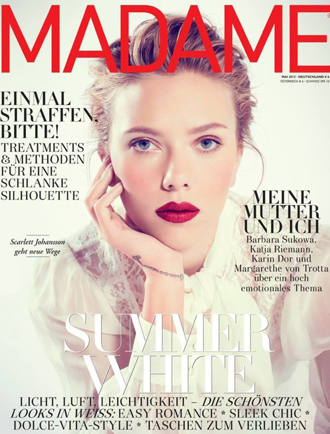 Madame magazine cover