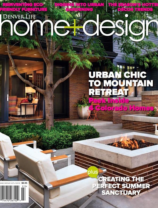 Denver Life Home and Design magazine cover