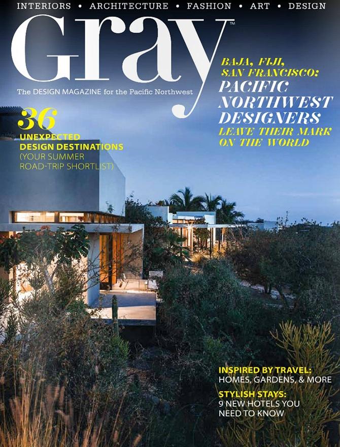 Gray magazine cover