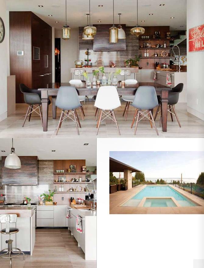 table modern lighting inside inside Gray magazine