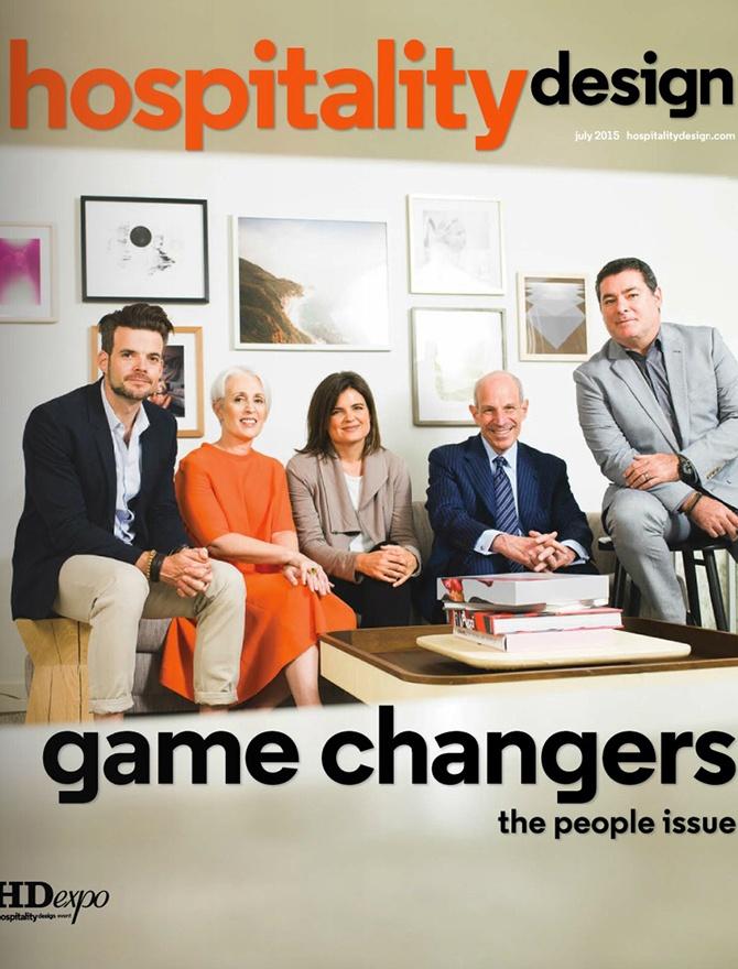Hospitality Design magazine cover