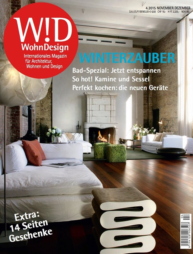 Wohn Design magazine cover