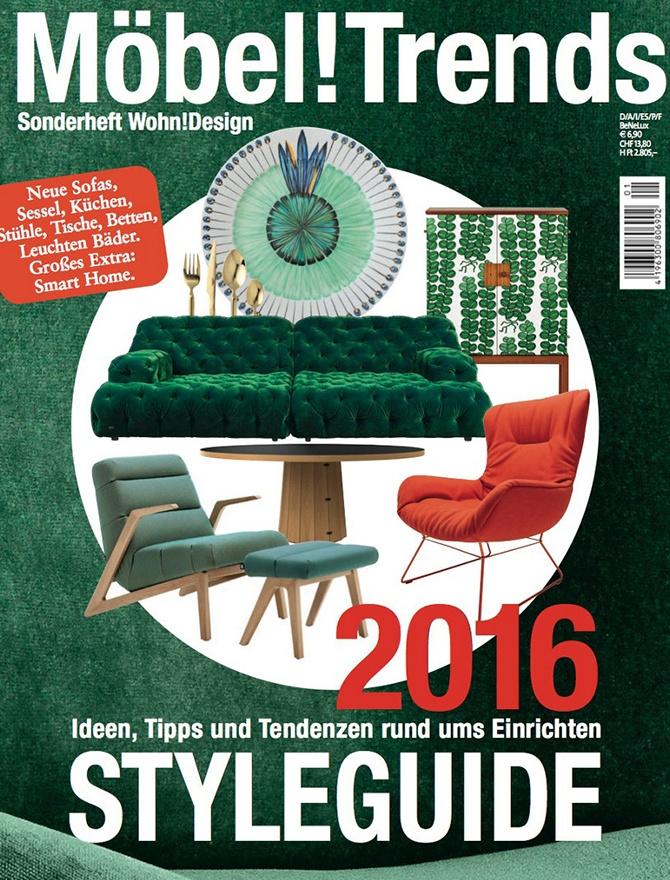 Mobel Trends magazine cover