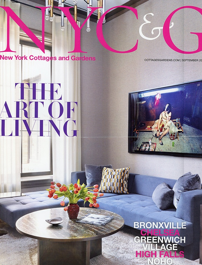 New York Cottages and Gardens magazine cover