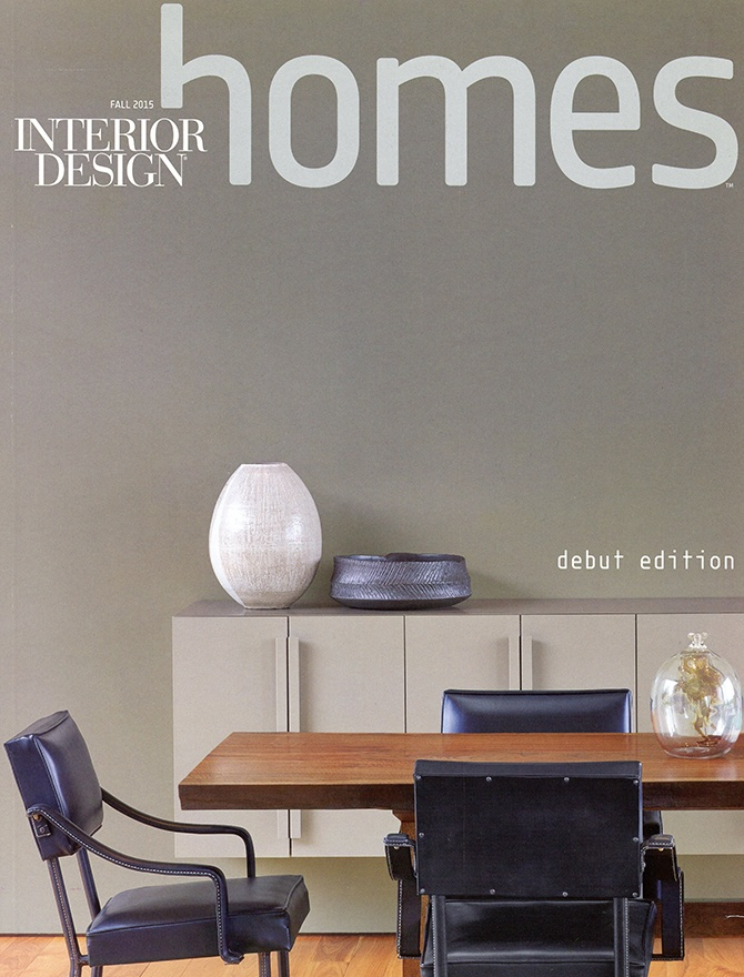 Interior Design Homes magazine cover
