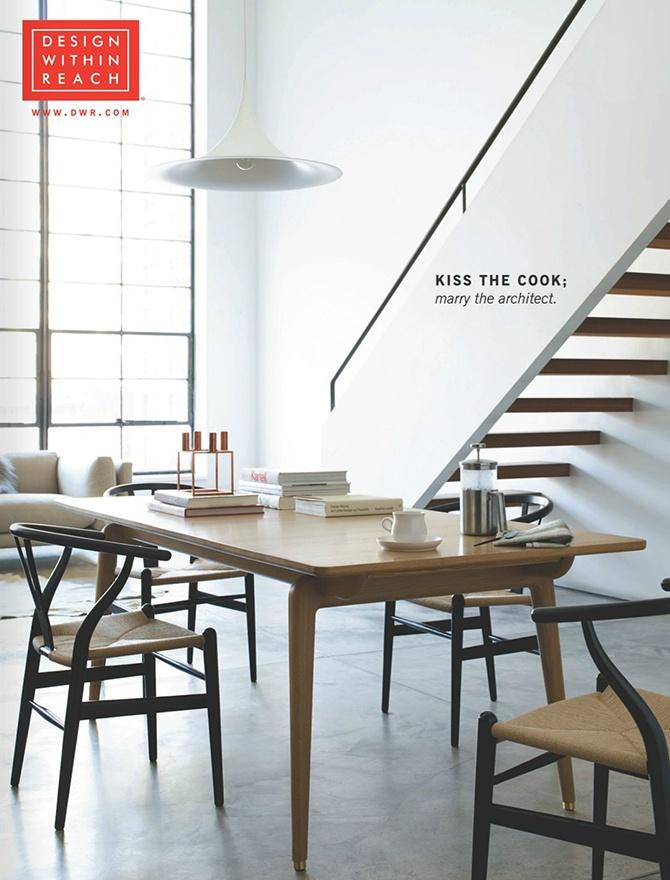 Design Within Reach catalog coer