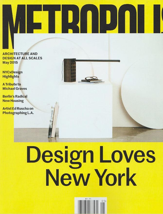Metropolis Magazine magazine cover