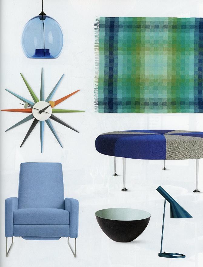 modern lighting inside Design Within Reach catalog