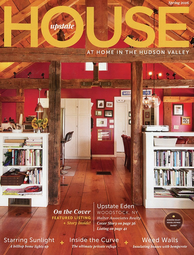 Upstate House magazine cover