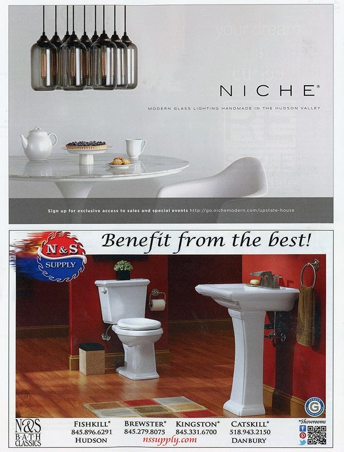 table modern lighting inside Upstate House magazine