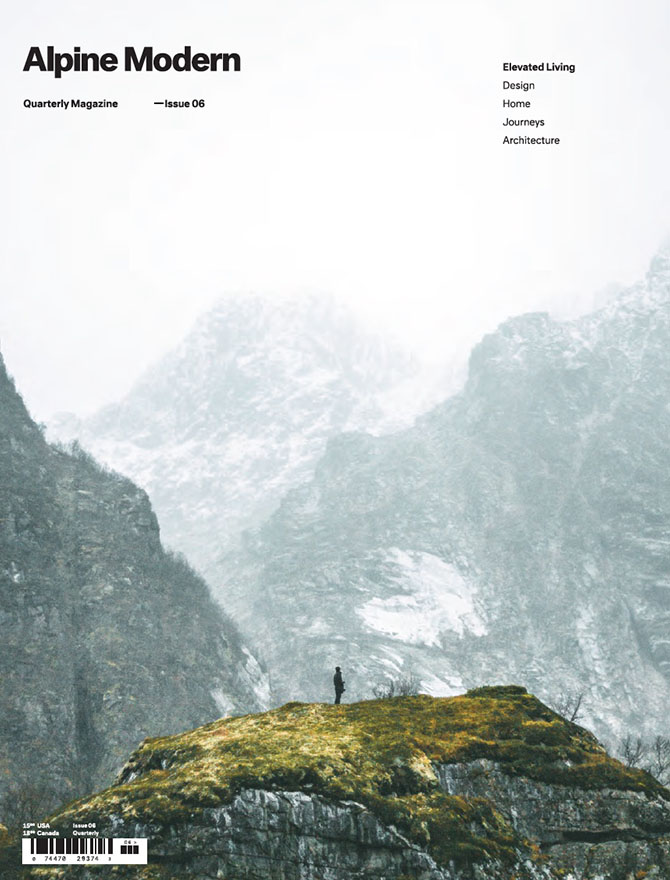 Alpine Modern magazine cover