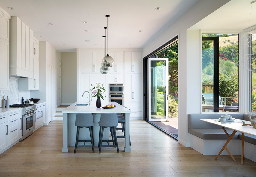 California Remodel with Niche Pendants Voted Best Kitchen by ...