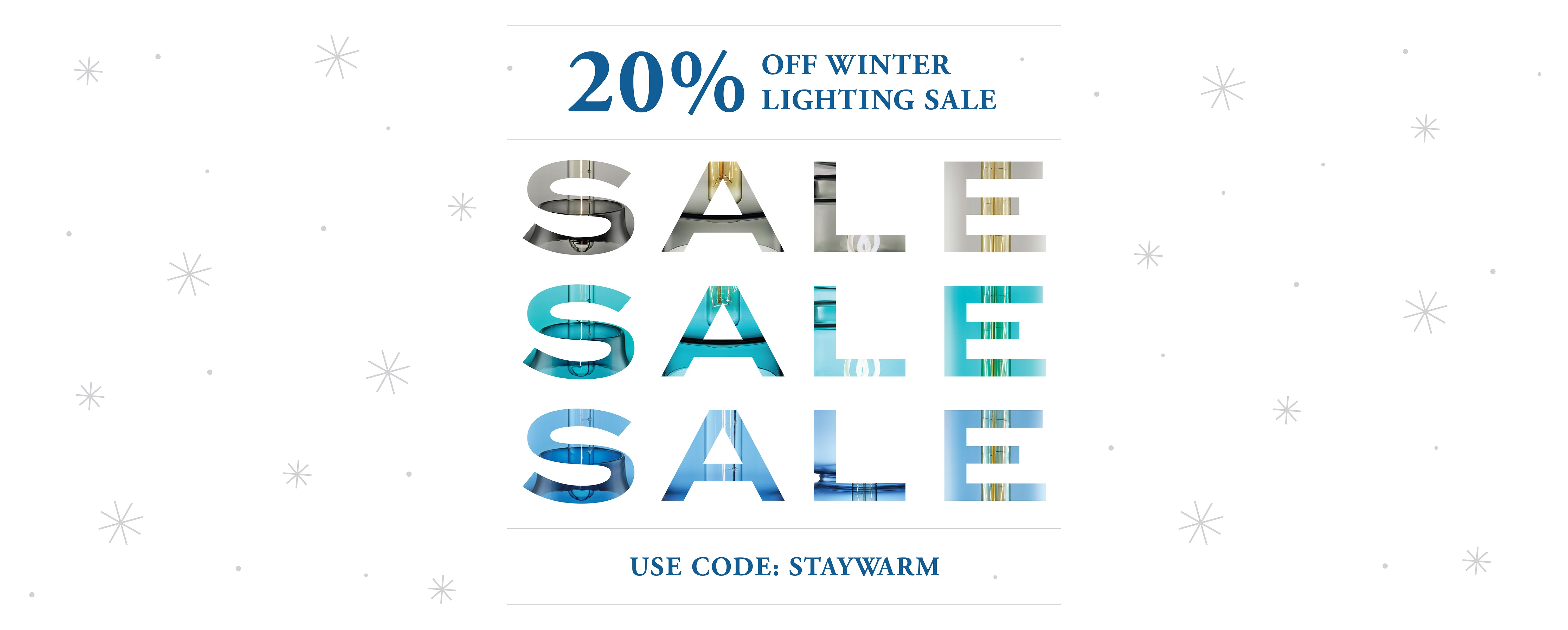 The Winter Lighting Sale